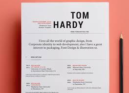 Modern Typographic Resume Set Free And Beautifully Designed Resume Templates Designmodo