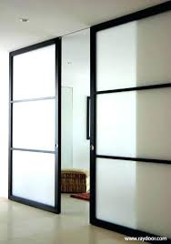 best modern contemporary sliding barn door hardware images on intended for glass doors remodel panel panels