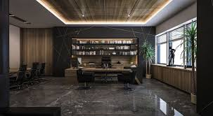 Small Ceo Office Design Ceo Office Design And Visualization For A Well Known Company