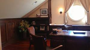 office paneling. custom home office paneling and trim r