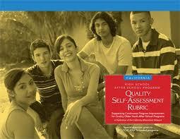 High School After School Program Quality Self Assessment Rubric