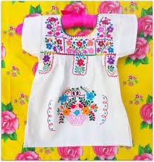 Carmelita Mexican Handmade Embroidered <b>Pure</b> Cotton Tunic ...