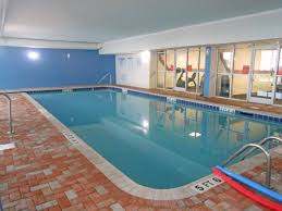 indoor pool and fitness center