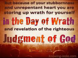Image result for romans 2:5 images