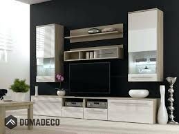 2 high gloss fronts entertainment center modern wall units for living room uk