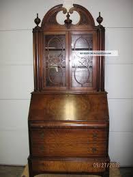 furniture best antique drop down secretary desk with hutch plan pictures of antique secretary