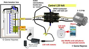 control 240 volt wemo use wemo or ordinary household remote control to control 120 or 240 volt motor buy from my associate links woods 32555 at amazon