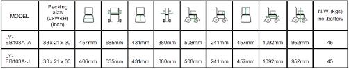 Standard Wheelchair Size Chart Buy Traveller 103a Electric Power Wheelchair Healthdexter Com