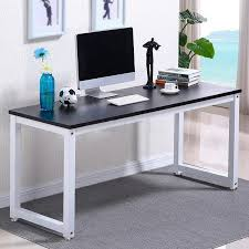 computer tables for home office. ktaxon wood computer desk pc laptop study table workstation home office furnitureblack tables for o