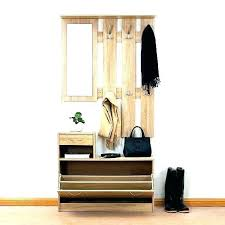 Coat Rack Bench With Mirror Classy Hallway Shelf And Mirror Hallway Coat Rack Bench Corner Hall Tree