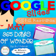 digital resource for may precepts for 365 days of wonder