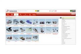 automotive spare parts catalog software