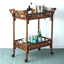 bamboo bar cart. Bamboo Bar Cart Image Of Rattan Collection Faux Brass
