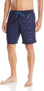 Hugo Boss Swim Shorts Size Chart Hugo Boss Boss Mens Orca Solid Swim Trunk Navy Small