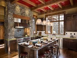 Rustic Cabin Kitchen Kitchen Floor Tile Design Kitchen Layouts Modern Rustic Cabin