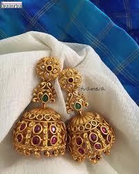 Gold Jhumka Designs For Bridal 21 Best Wedding Earring Designs For Brides Designer