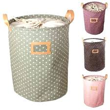 Laundry Bags With Handles Inspiration Home Ease Laundry Bag With Rope Handles Green Canvas Dedektorco