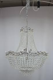 wave 10 light empire swarovski crystal chandelier in polished chrome