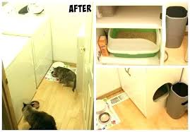 Decorative Cat Litter Box Decorating Litter Box Furniture Cat Cabinet Modern Glamorous 74