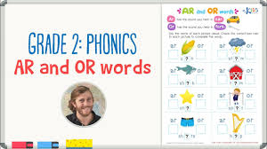 Free phonics worksheets for kindergarten grade 1 and 2 kids. Grade 2 Phonics Ar And Or Words Kids Academy Youtube