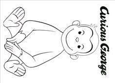 captain curious george curious george coloring book pages curious george