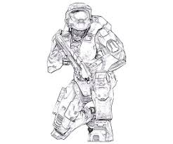 Small Picture 100 ideas Halo Master Chief Coloring Pages on kankanwzcom