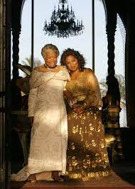 the dress i made for maya angelou the