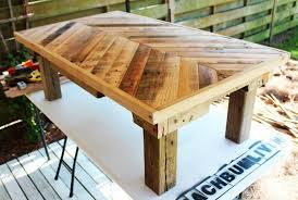 Table Wood Pallet Furniture For Sale