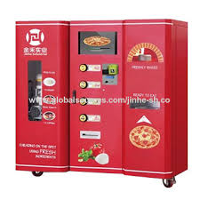 Automatic Pizza Vending Machine For Sale
