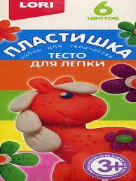 Пластишка. <b>Тесто для лепки LORI</b> 7469477 в интернет-магазине ...