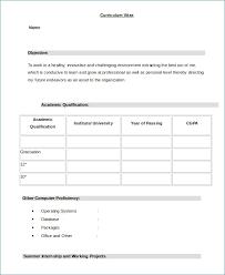 Resume Format Word Unique Resume Template Job Resume Format Word Document Free Career