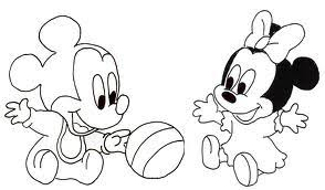 Topolino E Minnie Sposi Da Colorare Disegni Da Colorare