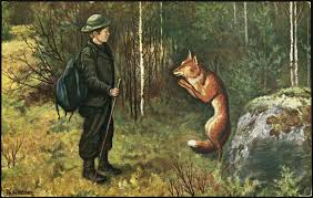the fox askeladdens adventure theodor severin kittelsen 1900 vulpes natural history adventure fo and natural history