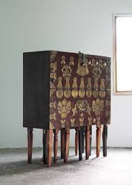 korean furniture design. The Pieces Are Made From Reclaimed Western-style And Classic Korean Furnishings Modified To Feature Additional Legs Materials, This Becoming Hybrid Furniture Design