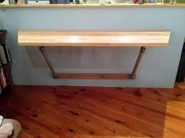 aluminium table wall strut simplified