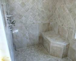 shower stall tile pics co with stalls tiled ideas idea seats contemporary prefab shower stall