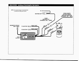 delco remy hei distributor wiring diagram schematic 28585 in msd 6al wiring diagram inspirational how to install ignition box on hei in of 4