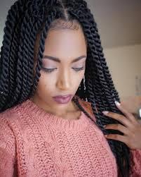 Image Tresses Collées Coupe De Cheveux Femme