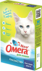 <b>Лакомство для кошек НПП</b> ФАРМАКС Омега Neo Омега-3