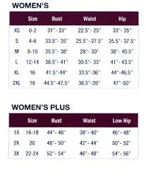 Adidas Size Chart Women S Clothing Womens Apparel Size Chart