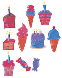 Top 60 Ice Cream And Birthday Cake Clip Art Vector Graphics And