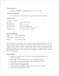 Software Tester Sample Resume Environmental Test Engineer Sample