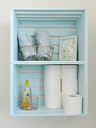 wooden crate furniture. blue wooden crate storage create bathroom with crates hung on the wall as furniture