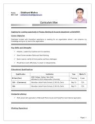 Sample Resumes For Bcom Freshers Listmachinepro Com