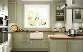 Cabinet color. green kitchen