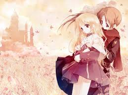 love anime couple hd wallpapers