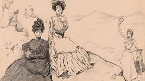 watch no more corsets the new w now kanopy trace late 19th century social trends that led to more public roles for women and emerging ideas of