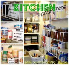 Kitchen Pantry Door Organizer 11 Ways To Organize On The Back Of A Door Organizing Made Fun