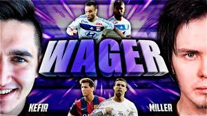 FIFA 16 | KEFIR VS GENA MILLER | WAGER MATCH - YouTube