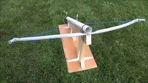 Ping Pong Launchers Crossbow Launcher Project 2014 Youtube